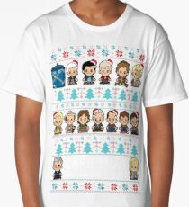 Lil Doc Who Christmas Jumper Update Long T-Shirt
