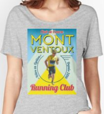 Chris Froome Mont Ventoux Running Club Women's Relaxed Fit T-Shirt
