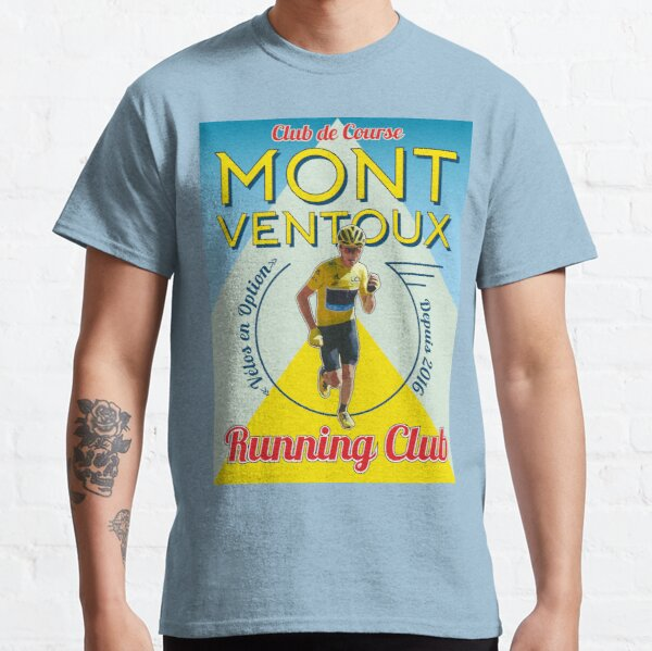 Chris Froome Mont Ventoux Running Club Classic T-Shirt