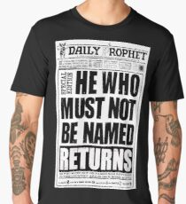 he who must not be named Men's Premium T-Shirt