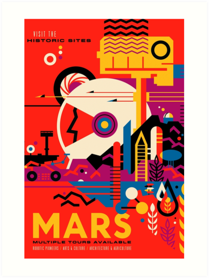 Tour of Mars by HeadRubble
