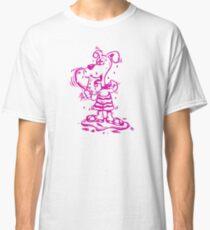 Funny Goofy Pup Tshirt Classic T-Shirt