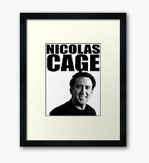 Nicolas Cage Framed Print
