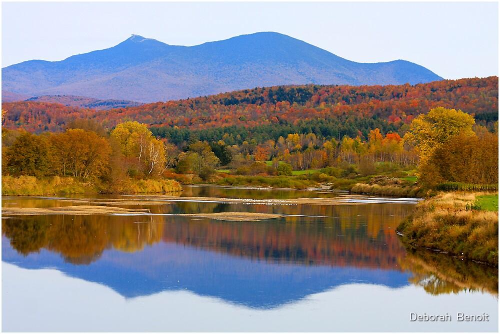 Backdrop To Jay Peak by Deborah  Benoit