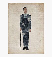 Mycroft Holmes (Mark Gatiss) Photographic Print