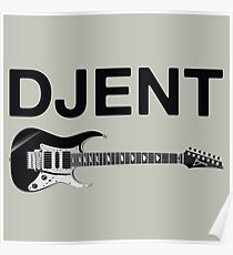 Djent style Poster
