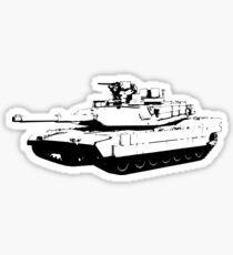 US Army M1 Abrams Main Battle Tank Sticker
