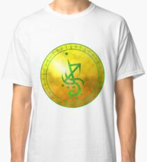 Sigil for prosperity, luck, and, fortune Classic T-Shirt