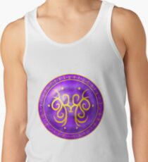 Sigil for understanding academic subjects, learning knowledge, and getting good grades Tank Top