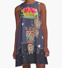 Sleigh Ride A-Line Dress
