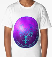 Sigil for protection, and to ward off negative energies Long T-Shirt