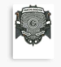 Gotham Crest Canvas Print