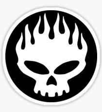 The Offspring - Black Logo. Sticker