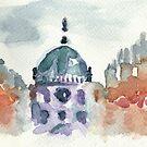 Poetic Brussels: Saint Mary's Royal Church by yanak