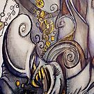Abstract steampunk monster by Extreme-Fantasy