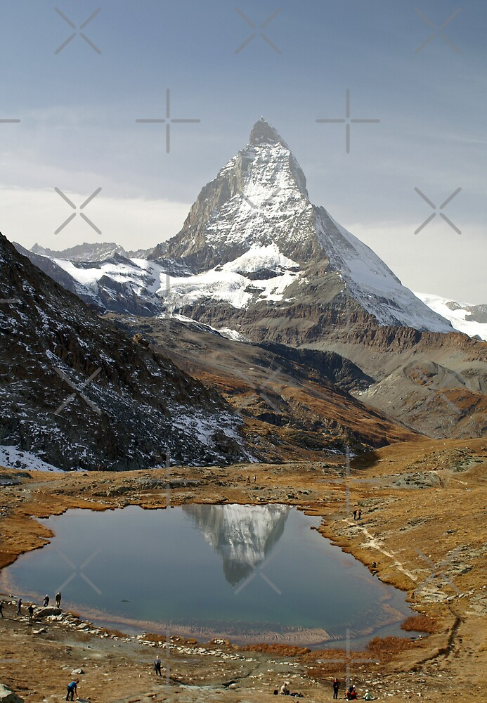 Riffelsee and the Matterhorn by poupoune