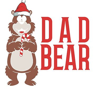 Christmas Dad Bear by CasualMood