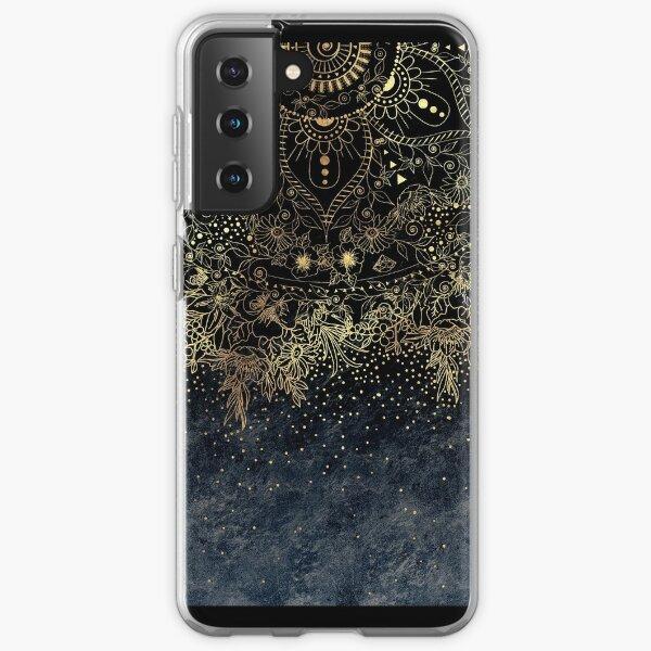 style tribal mehndi Coque souple Samsung Galaxy