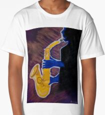 Blues Man Long T-Shirt