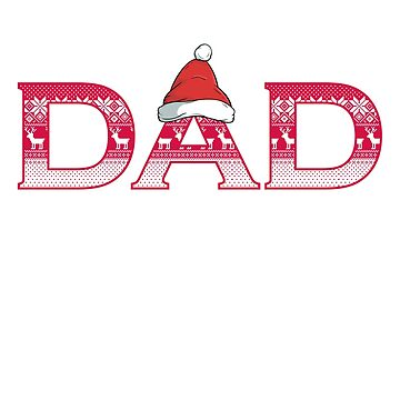 Christmas ornament Dad by CasualMood