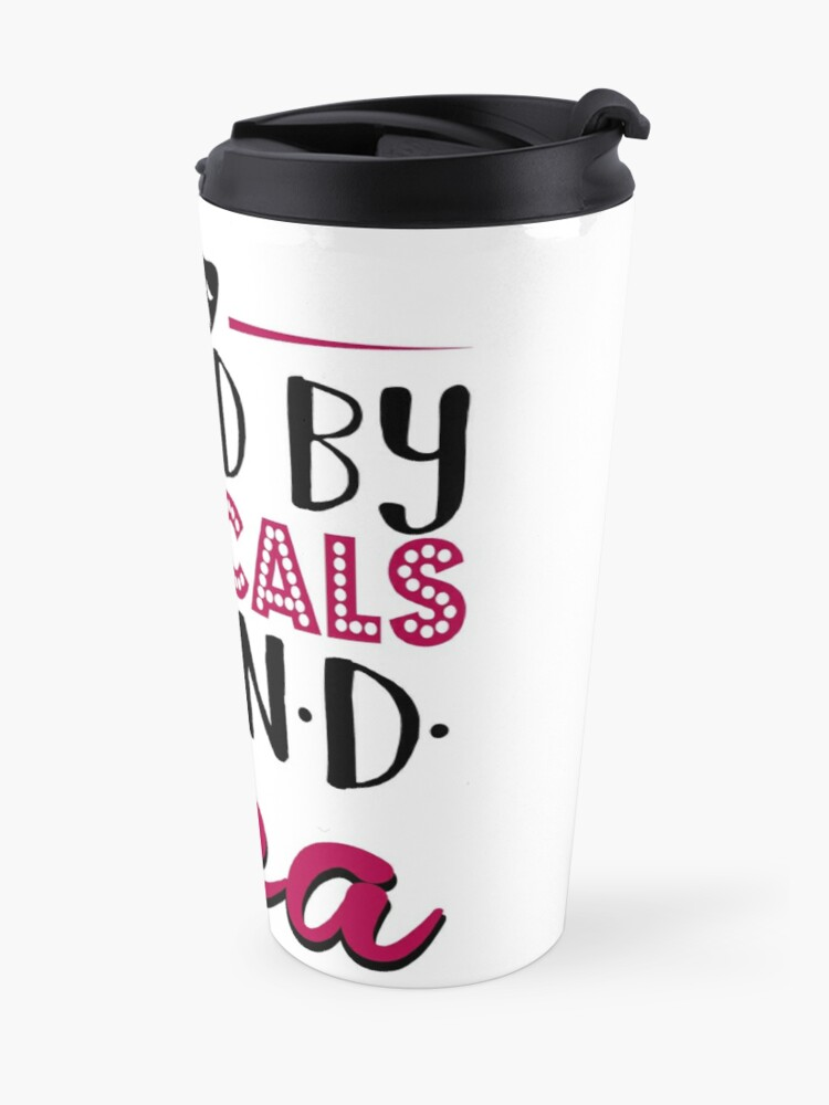 Alternate view of Fueled by Musicals and Tea Travel Mug