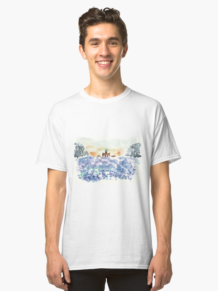 Alternate view of Poetic Brussels: Cinquantenaire park Classic T-Shirt