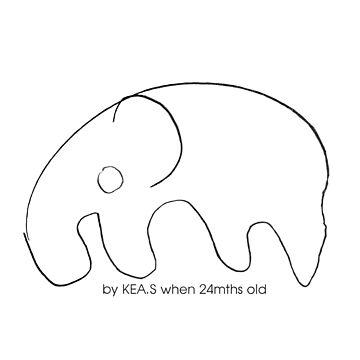 Elephant by alexandersuen