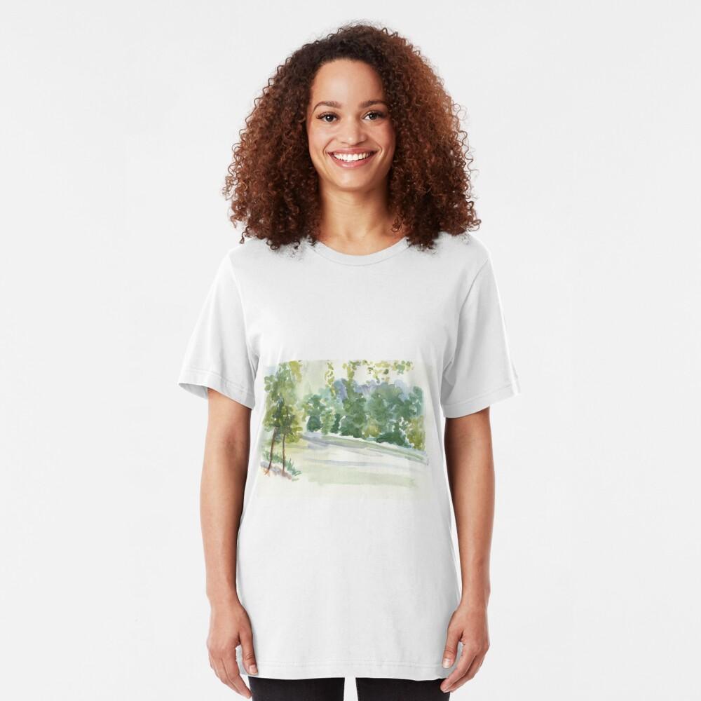 Portic Brussels: Bois de La Cambre Slim Fit T-Shirt