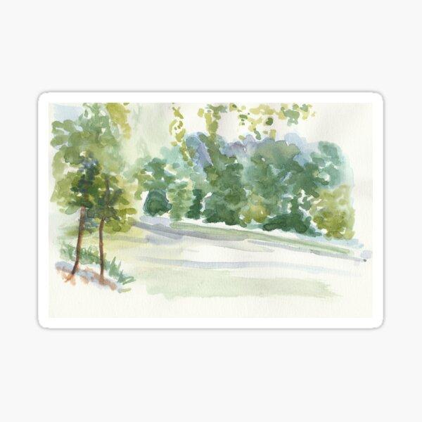 Portic Brussels: Bois de La Cambre Sticker