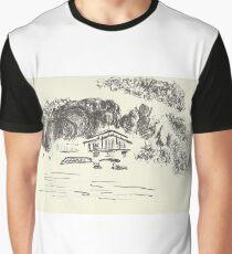 Poetic Brussels: Bois de La Cambre Graphic T-Shirt