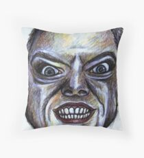 Into the Abyss Sketch Throw Pillow