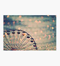 Ferris Wheel - Riesenrad Photographic Print
