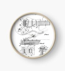 0520592d5b606 Fender Guitar: Horloges | Redbubble