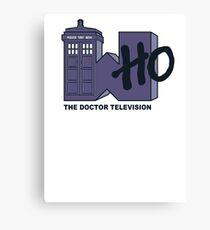 Who TV Logo Canvas Print
