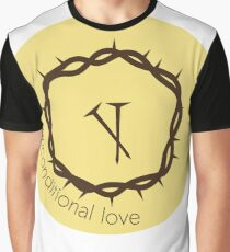 Image Unconditional love  Graphic T-Shirt