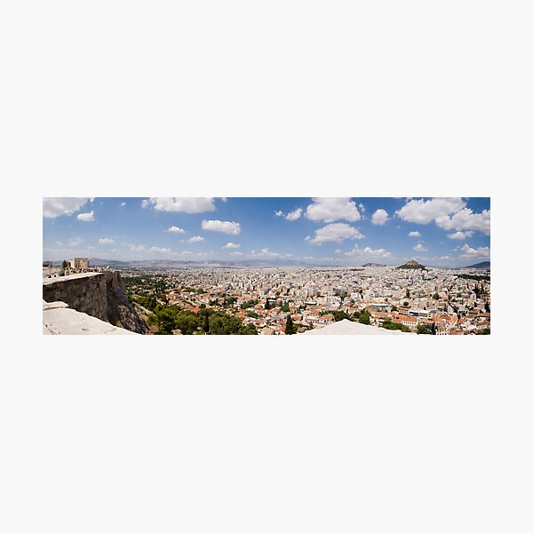 Athens Panorama Photographic Print