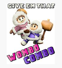 Wombo Combo Ice Climber Smash Bros Photographic Print