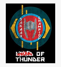 Sakaar's Champion - Thor Photographic Print