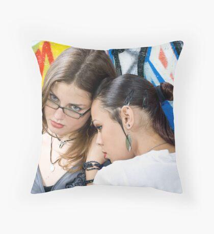 Females 2 Throw Pillow