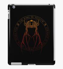 Vinilo o funda para iPad El Rey en Sigil Amarillo (fuego del infierno)