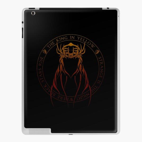 The King in Yellow Sigil (hellfire) iPad Skin