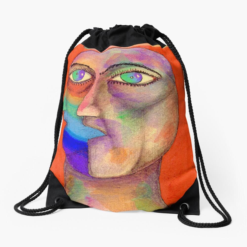 Dualidad Drawstring Bag