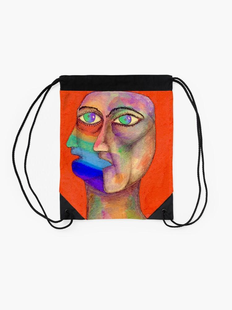 Alternate view of Dualidad Drawstring Bag