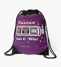 Casino game, family and friends t-shirt Drawstring Bag