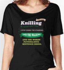 knilling and the walking Women's Relaxed Fit T-Shirt