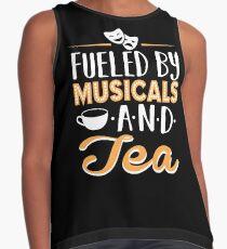 Angetrieben von Musicals und Tee Ärmelloses Top