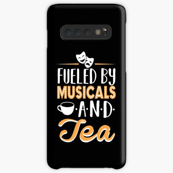 Fueled by Musicals and Tea Samsung Galaxy Snap Case