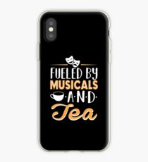 Fueled by Musicals and Tea iPhone Case
