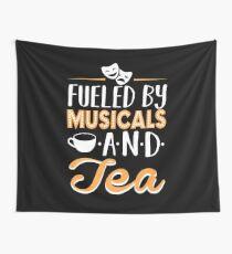 Tela decorativa Impulsado por musicales y té