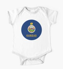 Kansas Baby Body Kurzarm